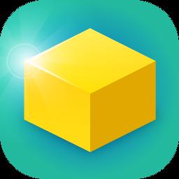 Blocksy icon.